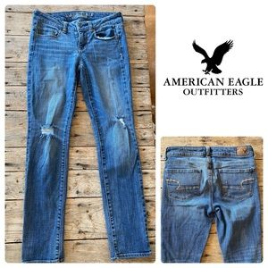 American Eagle Skinny Stretch Jeans Size 4